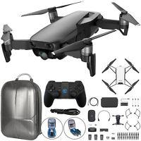 DJI Mavic Air Quadcopter Drone Fly More Combo w/Backpack+Bonus DJI Tello (Black)