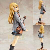 Anime Your Lie in April Miyazono Kaori Uniform PVC Figure Statue 20cm