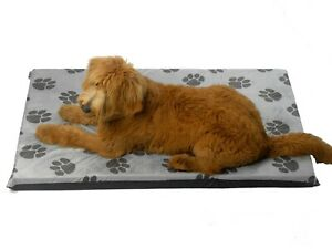 Dog Bed Mat Cushion Mattress Pillow Puppy Waterproof Travel Pet Basket Washable