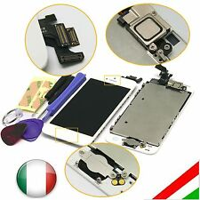 Per iPhone 5 LCD Touch Screen Digitizer Display + Home Button + Camera Bianco