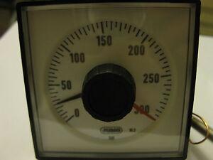 Jumo Microstat Termostato/Temperatura Tachimetro 0-300 celsius B 60.8501.0