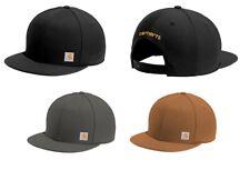 Carhartt Ashland Adjustable Snapback Flat-Brim Cap Authentic Fast-Dry Logo Hats