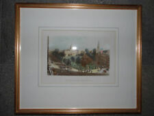 Antique (Pre-1900) Small (up to 12in.) Landscape Art Prints