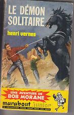 C1 Henri VERNES Bob Morane LE DEMON SOLITAIRE EO Type 2 1960