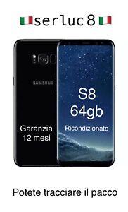 Samsung Galaxy  S8 G950f 64gb Ricondizionato Garanzia 12 Mesi Rigenrato Grado A