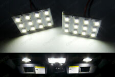 2x 12 SMD Panel LED DE3175 3021 6614 578 212-2 For PORSCHE Glove Box Light White
