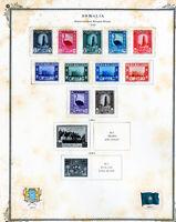 Somalia Stamps Mint Sets 1959-1970 Sets on pages