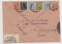 All.Bes./Gemeinsch.Ausg.Mi.928 u.a. Kempten/Allg, Eilbf (ohne AKS), 2.9.47, Mgl.
