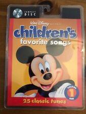 Walt Disney Records : Children's Favorite Songs, Vol. 1 - 25 Tracks New Sealed