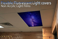 Flexible Fluorescent Light Cover Film Skylight Ceiling Office Medical Dental 111