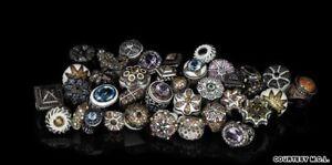 2K MCL MATTHEW Campbell LAURENZA Multicolor Sapphire& Enamel RING & EARRINGS Set