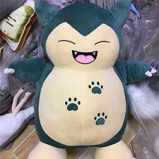"22"" Huge Pokemon Kabigon Snorlax Plush Smile Giant Handmade Cosplay kid toy B145"