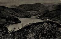 Odertalsperre bei Stöberhai Harz Ansichtskarte 1960 Blick vom Jagdkopf Stausee