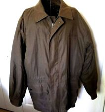 9f32014502a Claiborne Quilted Jacket Large Women s Lined Brown Drawstring Waist