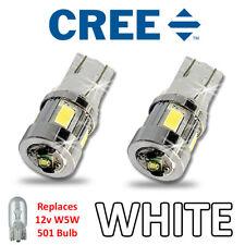 KAWASAKI ZZR 1400 LED GLIGNOTANT super brillant Ampoules 3W Cree W5W 501 T10