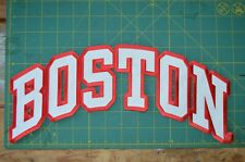 Boston University Terriers BU Large Hockey Jersey Jacket Patch NCAA College