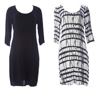 MIRACLEBODY  by Miraclesuit Women's Marilyn 3/4 Sleeve Pullover Dress NWT $89