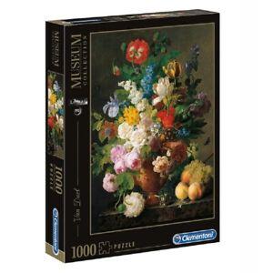 Clementoni Van Dael Bowl of Flowers 1000 Teile Puzzle Kunst Gemälde Art Painter