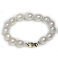 "South Sea Pearl  Bracelet  10.5 - 10 mm 7""1/2 14k yellow gold"