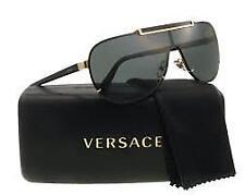 Versace Ve2140 100287 Gold Metal Cateye Sunglasses for Men's