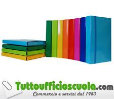 CARTELLA CARTELLINA ARCHIVIO ELASTICO PIATTO DORSO 3 CM MIS. 25X35 ROSSO