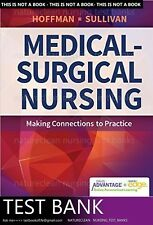 TEST BANK for Medical surgical nursing 1st edition by Hoffman (not book)
