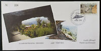 Lebanon 2021 NEW stamp the garden of the patriarchs Qannoubine Ltd Ed FDC