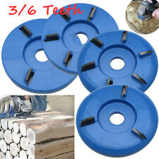 3/6 Teeth Wood Turbo Carving Disc Tool Milling Cutter Tools for Angle Grinder