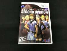 Trauma Center Second Opinion Wii Brand New Factory Sealed