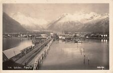 RPPC Valdez Alaska by Johnston 1950 Dear Dad 7A10