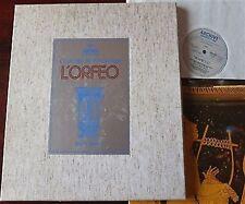 RARE! Claudio Monteverdi L'Orfeo 3 x LP Box Set & Booklet Jurgens Archiv 1974