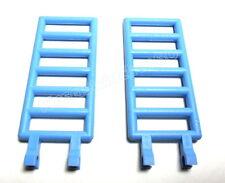 #308-6020  LEGO®  2 mittelblaue 7x3 Zaun Gitter Leiter mit 2 Clips NEU/NEW