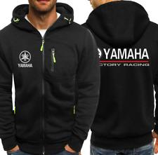 Moto Chaqueta con capucha hombres más reciente de Yamaha Completo Sudaderas Cálido Abrigo