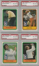 4 1981 DONRUSS GOLF CARDS PGA TOUR PSA 8 PATE BURNS MAHAFFEY LIETZKE # 6 7 15 16