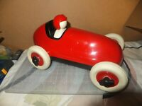 PlayForever Bruno Racing Car Toy Red