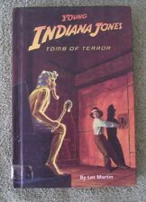 Young Indiana Jones Tomb Of Terror By Les Martin Hardback Weekly Reader