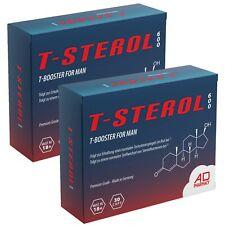 2x T-STEROL 600 - TESTOSTERON BOOSTER - ANABOL - MUSKELAUFBAU - POTENZ TESTO