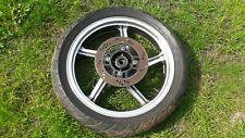 Felge hinten + Bremsscheibe  Kawasaki Zephyr 550 ZR550B 91-99