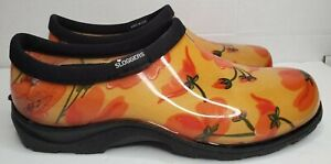 Sloggers Women's Waterproof Rain and Garden Shoe, California Dream, Size 7.0