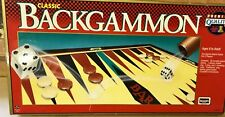 VINTAGE CLASSIC BACKGAMMON GAME ROSEART 1993 COMPLETE VGC