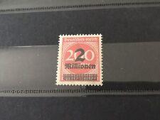Allemagne Weimar Timbres Républic German Empire 2 Mill Sur 200 Mark Rare 1923