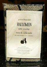 "POTTERY BARN SPIDER OVERLAY HALLOWEEN POTTERY BARN KIDS 42"" DIAMETER WEB NEW!"