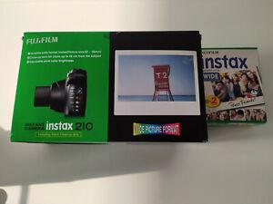 INSTAX 210 SOFORTKAMERA +  Fuji Fujifilm Wide Sofortbild 2 Filme für 20 Fotos