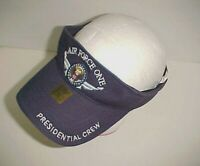 Air Force One Presidential Crew Adult Unisex Navy Blue White Visor One Size New