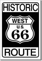 Historique Route 66 Large Métal Signe (De)