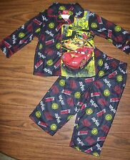 Toddler Boys Disney PIXAR CARS 2-Pc Pajamas - Size 3T - NEW NWT  MSRP $30