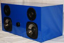 Bluetooth Hi-Fi pour la maison 2 X 50 Watts Bleu Lustrée Fabriqué à la main.