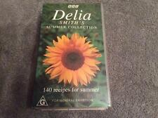 DELIA SMITH SUMMER COLLECTIONS COOKING  VHS PAL VIDEO~RARE MINT SEALED