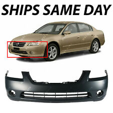 NEW Primered - Front Bumper Cover Replacement for 2002-2004 Nissan Altima 02-04