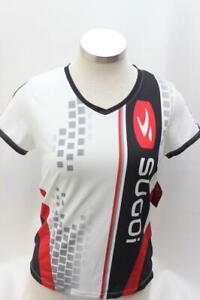 New Sugoi Women's Sky Runner Tee Jersey Running Fitness Medium White Top
